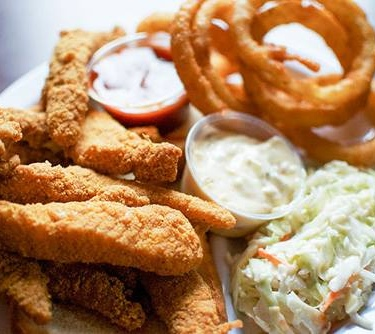 Southern Fried Catfish Dinner